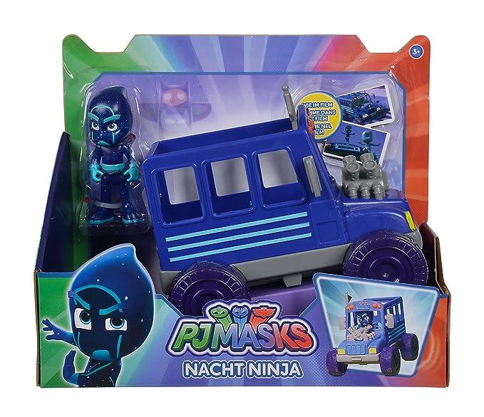Simba 109402228 – PJ Máscaras Ninja con Front con figura de juguete