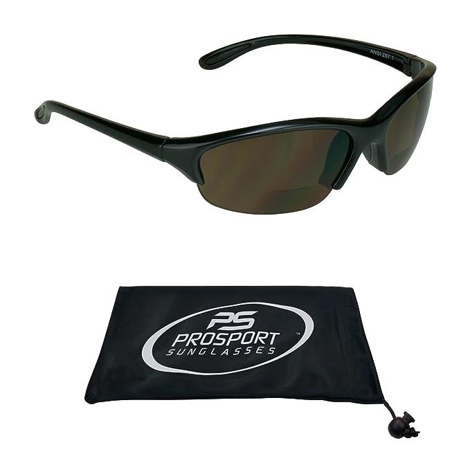 Amazon.com: Lector de Bifocal anteojos de sol Marco de para ...