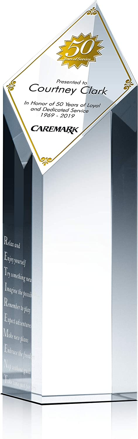 Personalized Retirement Gift Max 54% OFF Plaque for Co-Wo Friend Colleague Lowest price challenge