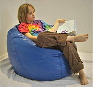 product image for Comfy Bean Beanbag Small Vinyl - Royal Blue