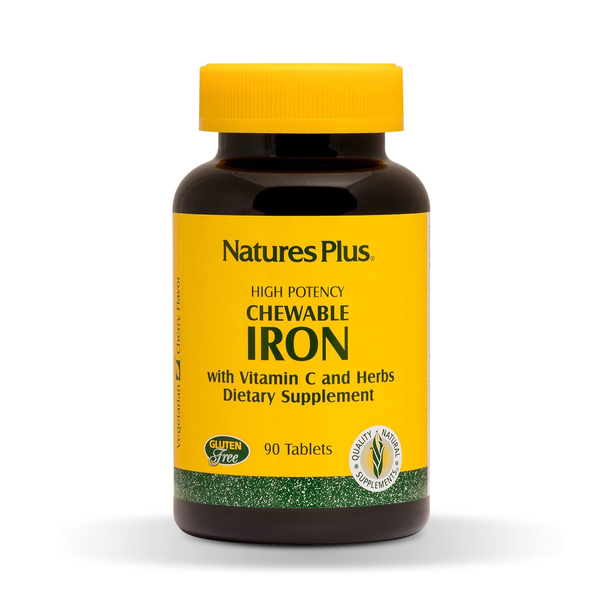 NaturesPlus Chewable Iron