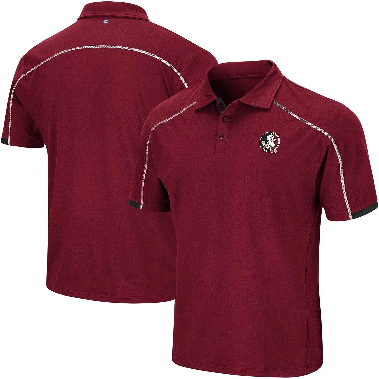Colosseum NCAA Mens Florida State Seminoles FSU Jamm Polo