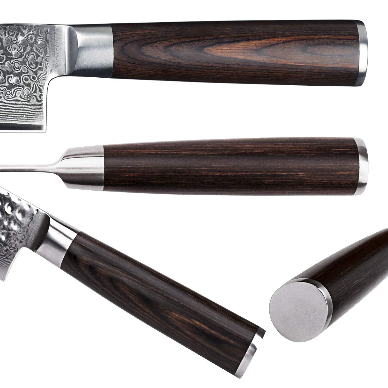 Compra YARENH Cuchillo de Cocina Profesional, Set Cuchillos ...