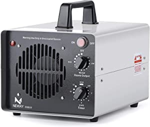 Neway 3500UV Commercial Ozone Generator 3 Ozone Plates with UV Control