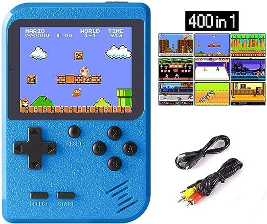 WFGZQ Consola De Juegos Portátil, Pantalla A Color De 2.8 Pulgadas ...