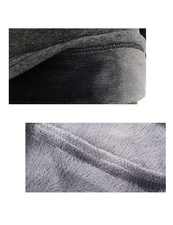 Letuwj Men`s Coton Crewneck Thermal Underwear Thicken Tops