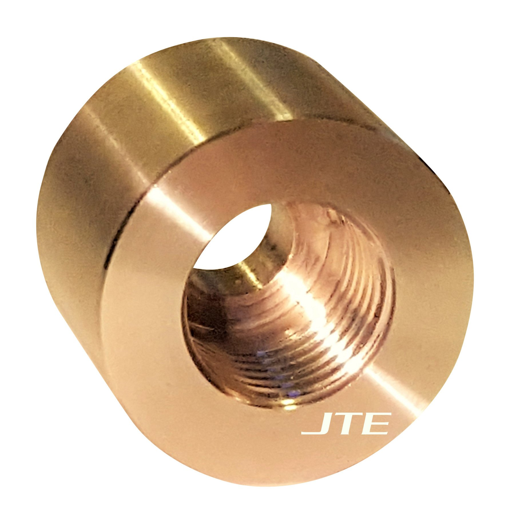 JTE Products 14MMEGT - 14mm X 1.50 Shrouded EGT sensor repair fitting/weld bung - CNC 304 Stainless - fits GM Duramax Diesels - Made in USA