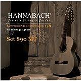 Hannabach 890 Kindergitarrensaiten 1/8 (Mensur: 44-48 cm)