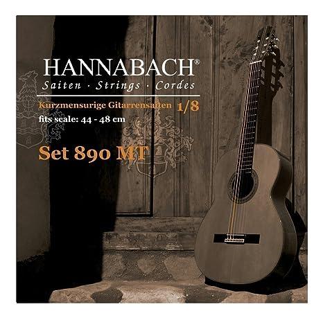 Hannabach 653059.0 - Cuerdas para guitarra clásica: Amazon.es ...