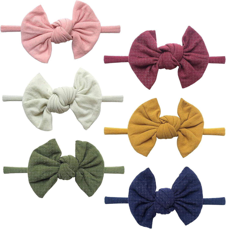 Toddler Headband Toddler Bow Colorful Bow Newborn Bow Colorful Headband Baby Bow Baby Headband Nylon Headband Helmet Bow