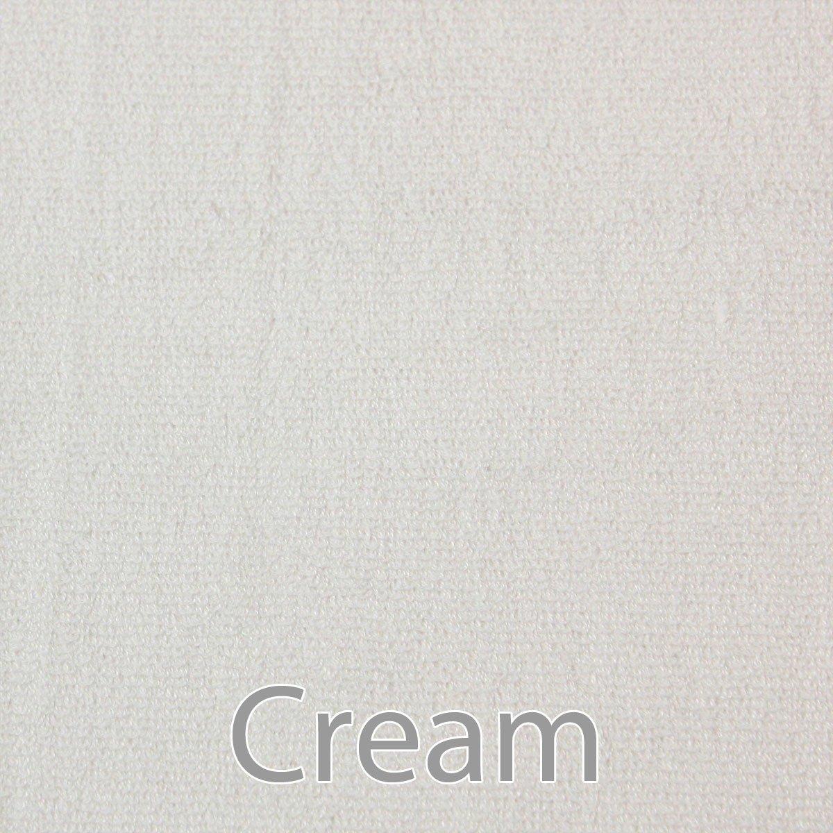 Luxury Spa Ultra Soft 70% Rayon Bamboo 30% Organic Cotton Blend Bath Towel - 2pc - Cream