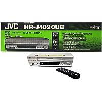 The New JVC HR-J4020UB VHS 4 Head VCR Player M-PAL NTS hrj4020ub S-VHS Silver