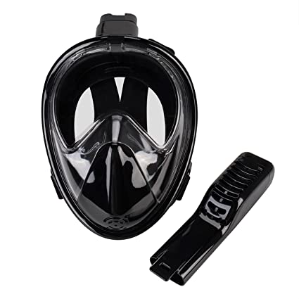 Elite O&S Full Face Snorkel Mask Seaview 180° with Anti-Fog Anti-Leak