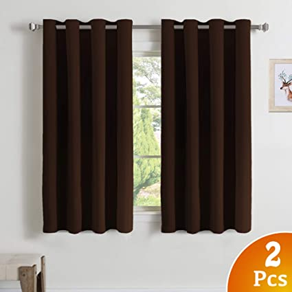 Amazoncom Turquoize Blackout Curtains Panels For Small Window