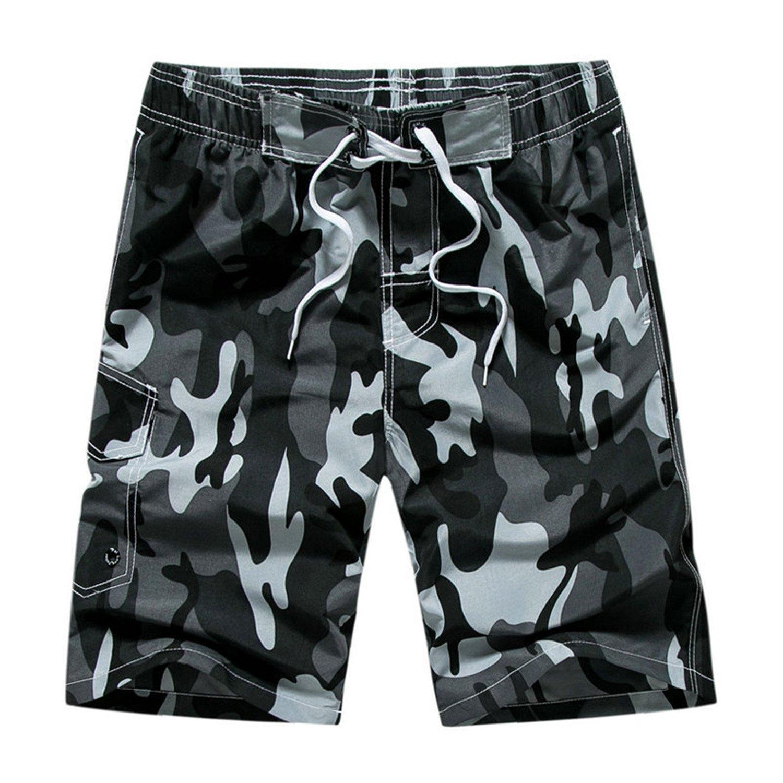 6d8315a53e Cheryl Bull Camouflage Board Shorts Men Mens Beach Shorts: Amazon.ca:  Clothing & Accessories