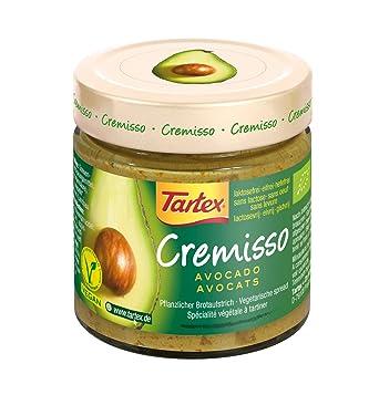 Tartex Cremisso de Aguacate - Paquete de 6 x 180 gr - Total: 1080 gr