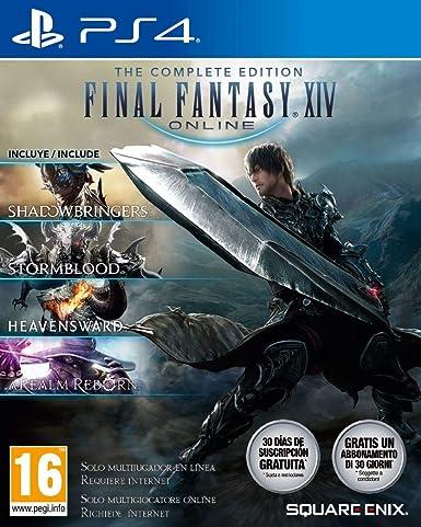 Oferta amazon: Final Fantasy XIV: Shadowbringers - Complete Edition (PS4)