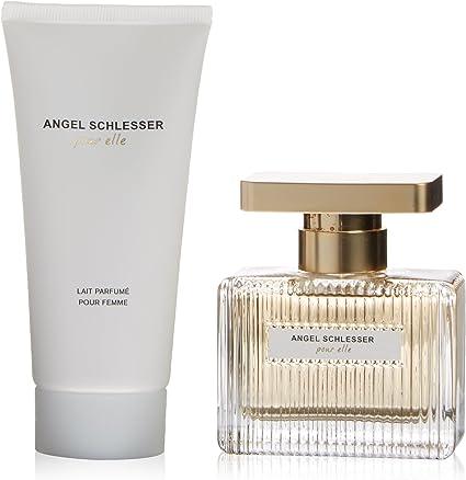 Angel Schlesser Pour Elle Agua de Colonia + Loción Corporal - 1 Pack: Amazon.es: Belleza