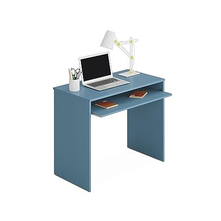 Habitdesign - Mesa de Ordenador con Bandeja Extraible, Medidas: 90 ...