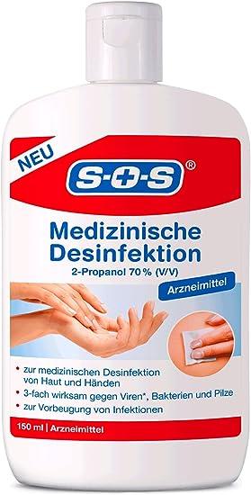 Sos Medizinische Desinfektion Zur Medizinischen Desinfektion Von