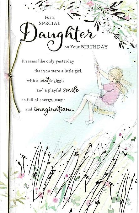 Gibson - Tarjeta de felicitación de cumpleaños para hija con ...