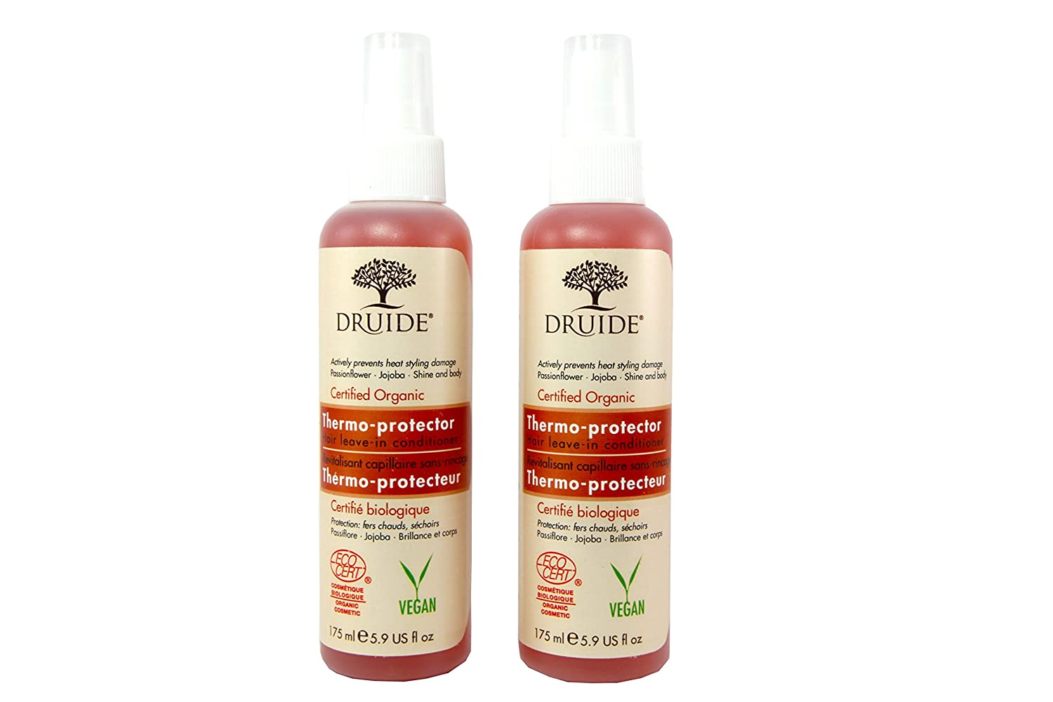 Druide – Lot de 2 – Spray thermoprotecteur Bio Haar – ohne für