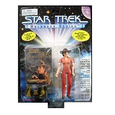 Star Trek Holodeck Series Deanna Troi As Durango: Toys & Games
