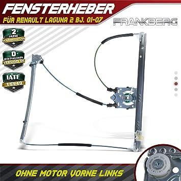 Frankberg 2X Fensterheber elektrisch vorne Links rechts f/ür Laguna II BG0//1/_ Schr/ägheck KG0//1/_ Kombi