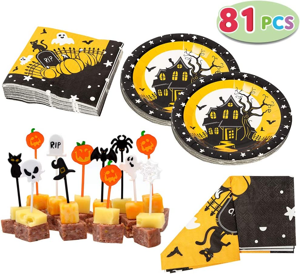 Haunted House Party Tableware Bundles