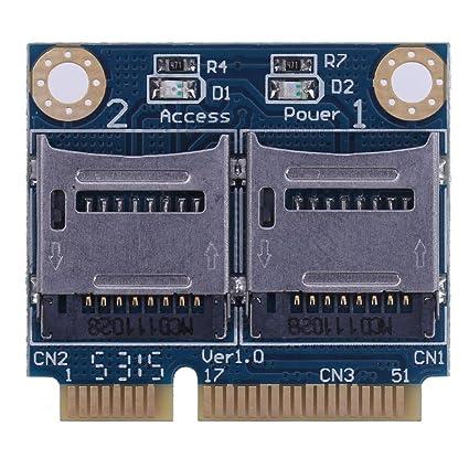 Hillrong Mini PCIE - Adaptador de Tarjeta de Memoria PCI-E a ...