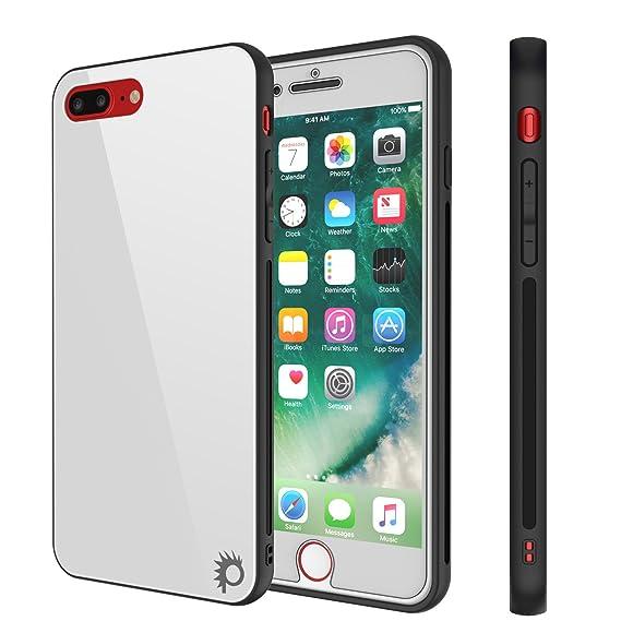 the best attitude 9f18e f4e44 Amazon.com: iPhone 8 PLUS Case, Punkcase GlassShield Ultra Thin ...