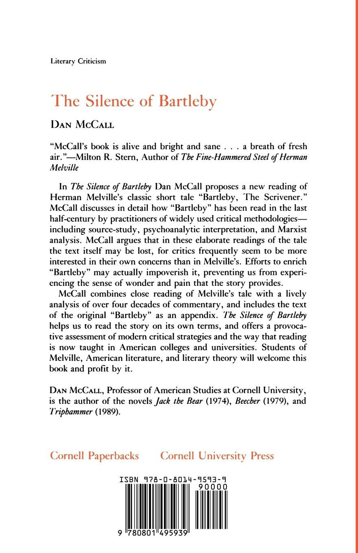 bartleby the scrivener literary analysis