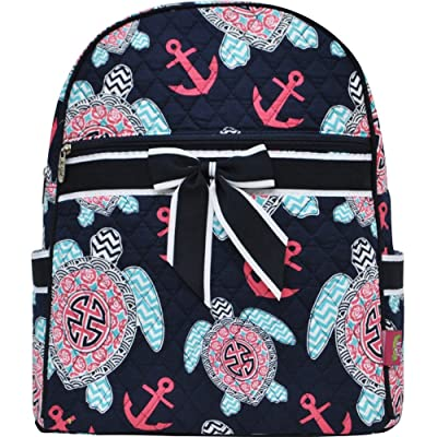 Ocean Themed Prints NGIL Quilted Backpack