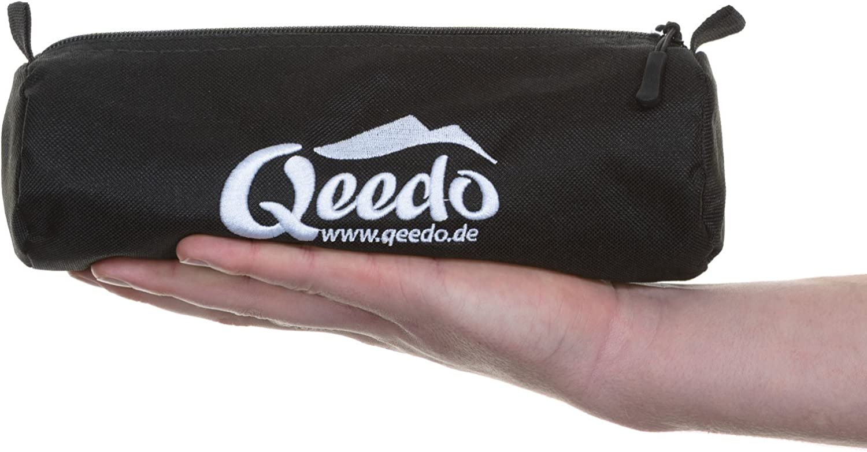 Qeedo Quick T-Pegs Piquets de Tente avec Poche 30 cm 12 pi/èce // 25 pi/èce 20 cm