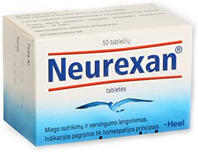 Neurexan Heel N50 - Sleep Aid, Stress Relief for Deeper, Restful Sleep