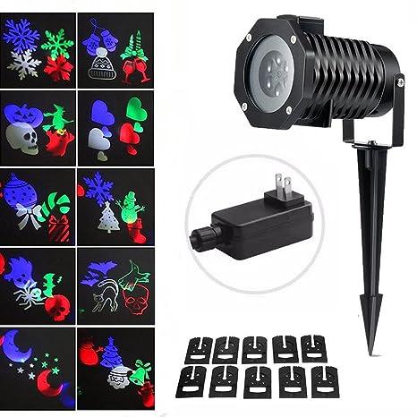 Amazon.com: Onerbuy - Proyector de luz LED de Navidad para ...
