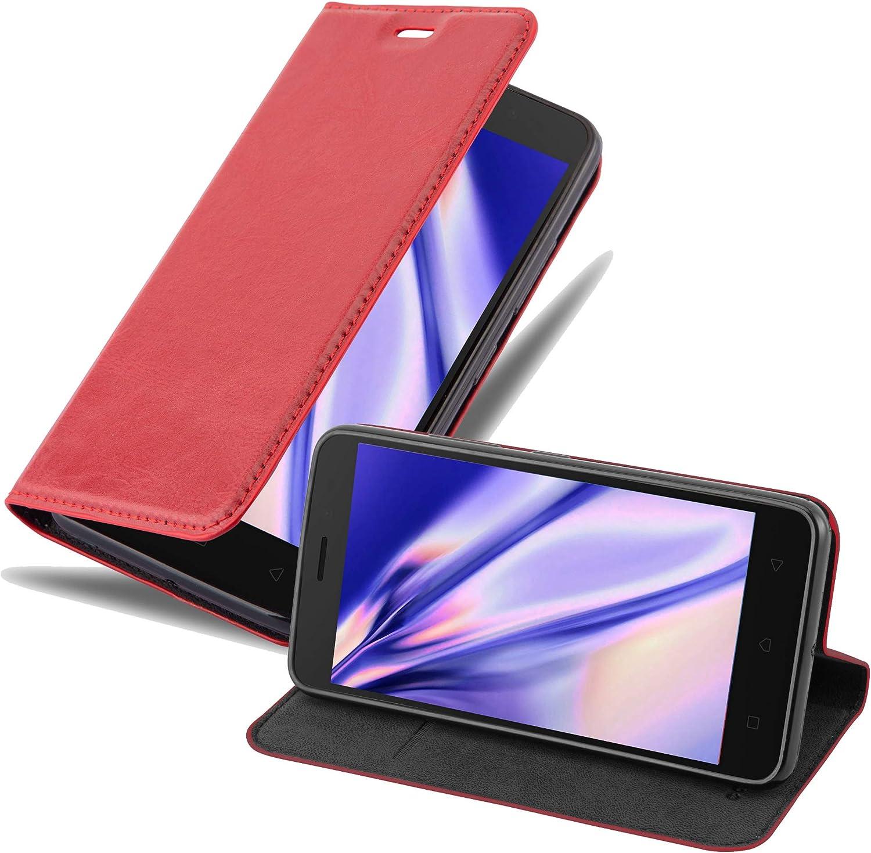 Cadorabo Funda Libro para Lenovo K6 / K6 Power en Rojo Manzana – Cubierta Proteccíon con Cierre Magnético, Tarjetero y Función de Suporte – Etui Case Cover Carcasa: Amazon.es: Electrónica