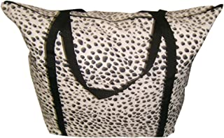 product image for BAGS USA Tote Bag for Ladies,Travel or Beach Bach Bag,Dalmatian Leopard,Paint,Pineapple