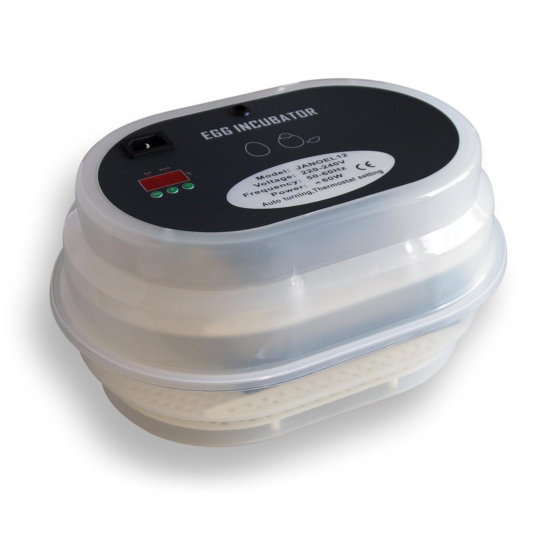 Janoel 12 Hühnereier Mini Inkubator - Brutmaschine
