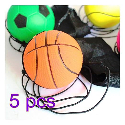 Pelota Juguete, hmane 5pcs 60 mm circulares de muñeca banda pelota ...
