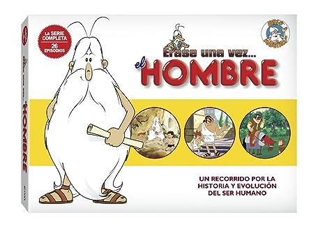 érase Una Vez El Hombre Dvd Albert Barillé La Serie Completa 5 Dvd Movies Tv