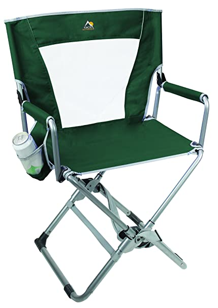 GCI Outdoor Xpress Directoru0027s Chair, Hunter Green