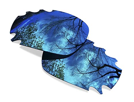sunglasses restorer Lentes de Recambio Polarizadas Azul Hielo para Oakley Jawbone Ventilada