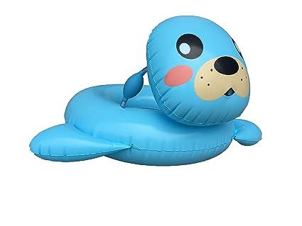Amazon.com: Big Summer - Flotador hinchable de piscina en ...