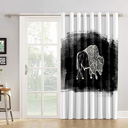 Cortinas de cocina para el cuarto de baño o la ventana, panel para salón, dormitorio, cortinas