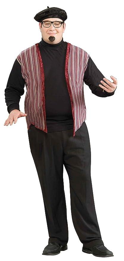 1960s Men's Costumes  Plus-Size 60s Revolution Beatnik Dude Costume $36.97 AT vintagedancer.com