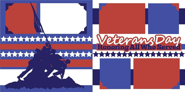 Veterans Day Scrapbook Page Kit