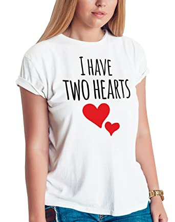 8782633d877fc Pregnancy Shirt, I Have Two Hearts Shirt, Pregnancy Announcement Shirts,  Mother to be