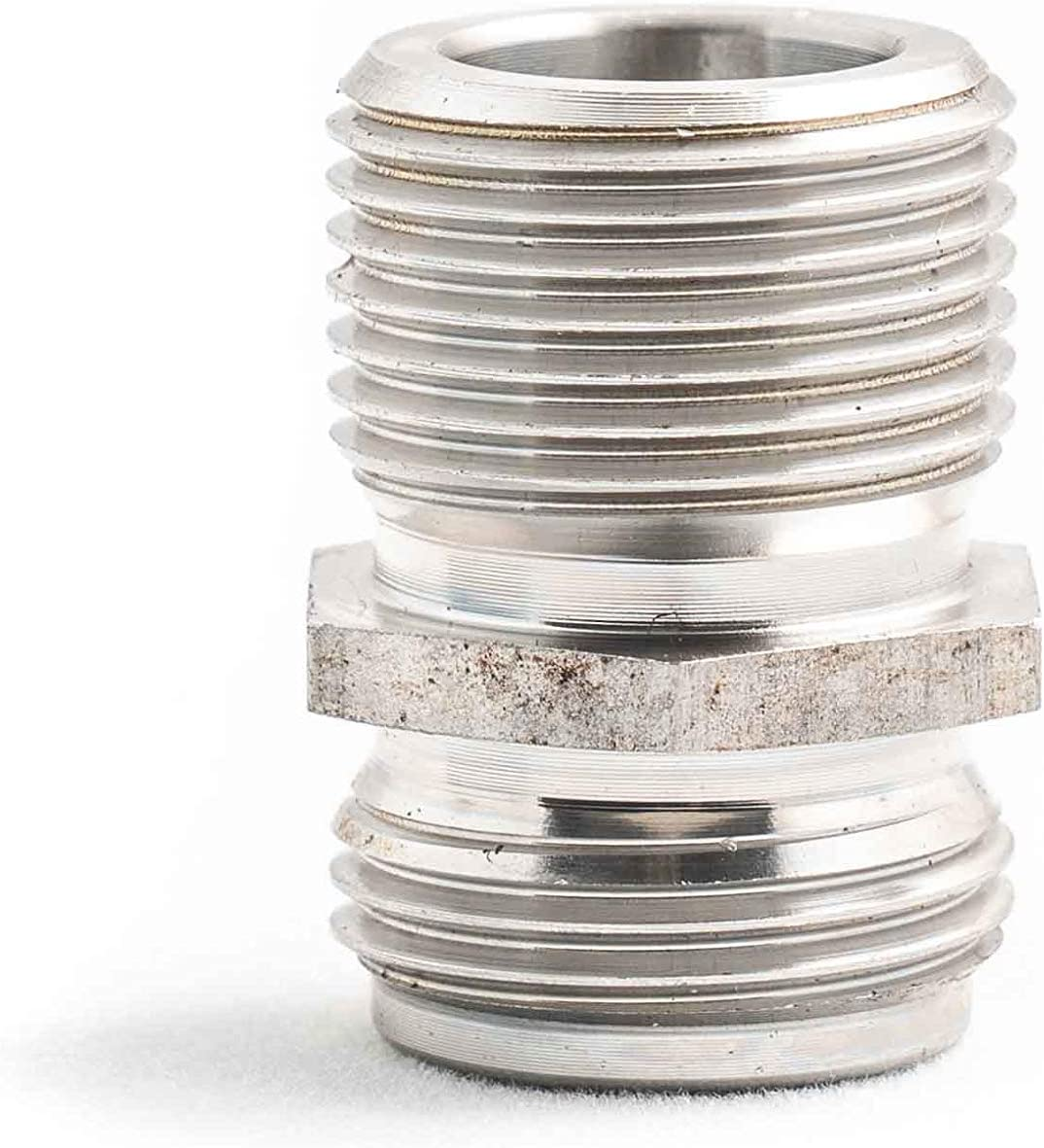 Stainless Steel 68RFE Spin On Transmission Filter Screw Coupler Upgrade Compatible with 2007.5-2019 Dodge Ram 6.7L Cummins Diesel