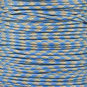 Paracord Planet 550 Cord Type III 7 Strand Paracord 50 Foot Hank - Carolina Beach